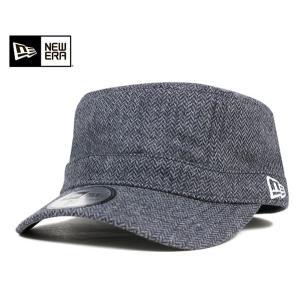 ニューエラ NEW ERA ワーク ミリタリー キャップ ツイード チャコール 帽子