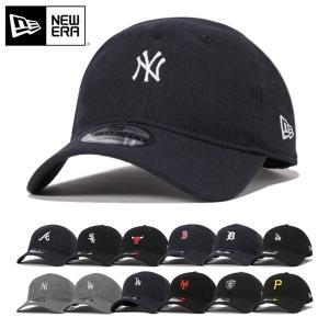ニューエラ キャップ 帽子 NEW ERA 9TWENTY ミニロゴ メルトン メンズ レディース ...
