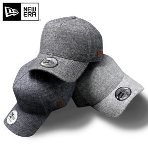 別注 ニューエラ キャップ 帽子 サイズ調整 9FORTY LINEN SHETLAND WOOL TWILL NEW ERA メンズ|caponspotz