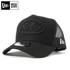 ニューエラ NEW ERA メッシュ キャップ オールド ロゴ ダック ブラック 帽子