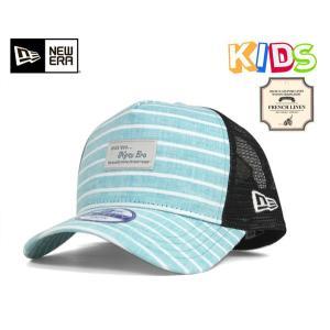 ニューエラ キッズ 子供用 メッシュキャップ 帽子 NEW ERA KIDS|caponspotz