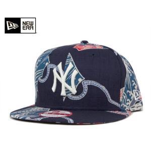 ニューエラ キャップ 帽子 NEW ERA コラボ ヤンキース ネイビー 【返品・交換対象外】|caponspotz