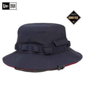 ニューエラ NEW ERA×ゴアテックス アドベンチャー ハット ネイビー 帽子