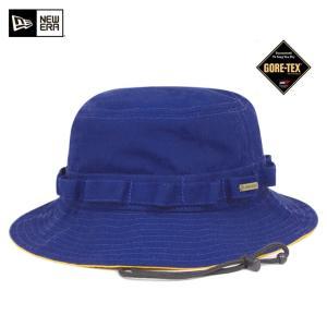 ニューエラ NEW ERA×ゴアテックス アドベンチャー ハット ブライトロイヤル 帽子