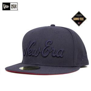 ニューエラ NEW ERA×ゴアテックス キャップ ネイビー 帽子