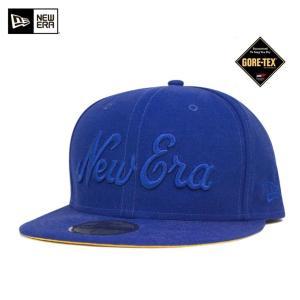 ニューエラ NEW ERA×ゴアテックス キャップ ブライトロイヤル 帽子