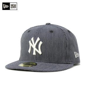 ニューエラ キャップ 帽子 NEW ERA 59FIFTY ヤンキース ネイビー