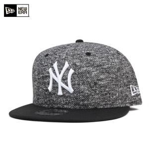 ニューエラ NEW ERA スナップバック キャップ ニューヨーク ヤンキース ブラックフレンチテリー 帽子