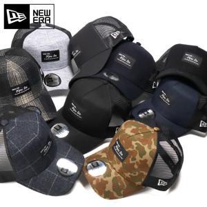 別注 ニューエラ メッシュキャップ 帽子 9FORTY BLACK PATCH|caponspotz