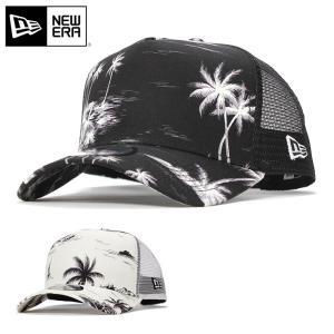 ニューエラ メッシュキャップ 帽子 NEW ERA 9FORTY Aフレーム アロハ メンズ レディーズ|caponspotz