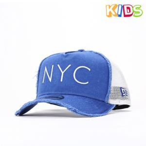 ニューエラ キッズ メッシュキャップ 帽子 NEW ERA ...
