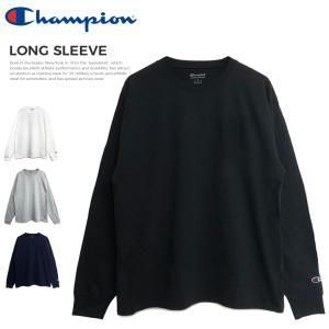 チャンピオン Tシャツ メンズ レディース 大きいサイズ トップス Champion ロンT 無地 CC8C|capsule091