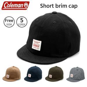 ゆうパケット送料無料 コールマン ローキャップ 帽子 キャップ 短つば 後ろかぶり 大人 アウトドア サイズ調節可能 日よけ対策 ブランド Coleman 181-032a|capsule091