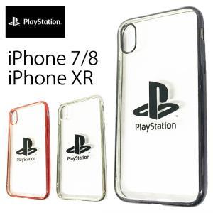 プレイステーション プレステ スマホケース Play Station iPhone7 8 SE2 XR 11 12 12pro ケース ゆうパケット送料無料 カバー 保護 クリア 限定 capsule091