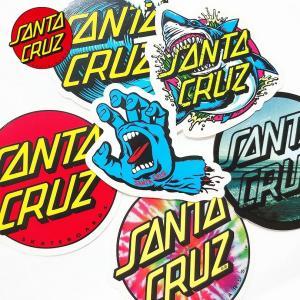 SANTA CRUZ サンタクルーズ ステッカー 6枚セット ゆうパケット送料無料 シール スケート スケーター ポイント消化|capsule091