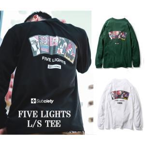 サブサエティ ファイブ ライト 長袖Tシャツ Subciety FIVE LIGHTS L/S|captain79