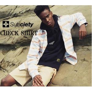 サブサエティ チェックシャツ Subciety CHECK SHIRT|captain79