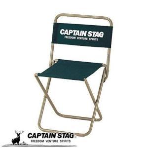 キャプテンスタッグ チェア CS レジャー チェア 大 type2 グリーン UC-1598
