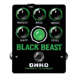 OKKO BLACK BEAST(ブラックビースト) FUZZ 歪み系エフフェクター captone