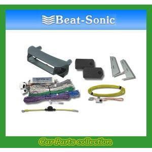 ビートソニック Beat-Sonic ナビ取替えキット AOK-10G ブラック 【送料無料】|car-cpc