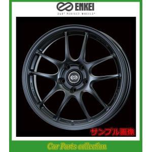 16インチ 7J 4H P.C.D:100 INSET:43 エンケイ(ENKEI)ホイール パフォーマンスラインPF01 カラー:Matte Black (2本セット) car-cpc