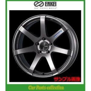 15インチ 5J 4H P.C.D:100 INSET:45 ハブ径:φ75 エンケイ(ENKEI)ホイール パフォーマンスライン PF07 カラー:Dark Silver 2本セット|car-cpc