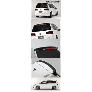 Volkswagen GOLF(ゴルフ) Touran Comfortline/Highline DBA-1TCTH (2011〜) リアルーフスポイラー(FRP)未塗装 [代引購入不可商品]