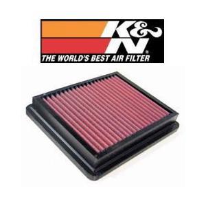 N-BOX JF1 (11.12-) S07A(T) 660cc K&N ケーアンドエヌ 純正交換タイプエアフィルター 33-2740