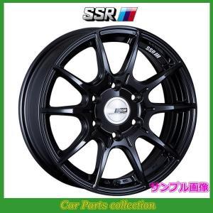 17インチ 6.5J 6H/P.C.D:139.7 INSET:38 SSRアルミホイール ディバイド X01H グロスブラック1本(代引き購入不可)|car-cpc