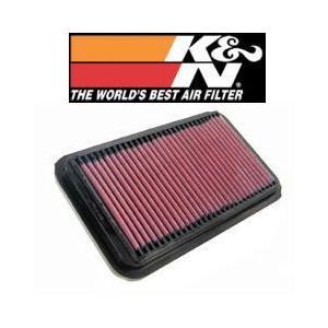 ジムニー JB23W (98.10-) K6A(T) 660cc K&N ケーアンドエヌ 純正交換タイプエアフィルター 33-2826|car-cpc