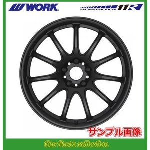 ワーク WORK ワークエモーション 11R 16インチ 6.5J 4H/P.C.D:100 INSET:52/42 マットブラック(2本セット) car-cpc
