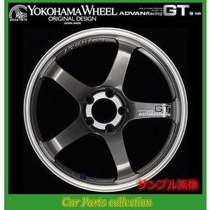 ヨコハマ アドバンレーシングGT 18インチ 9.5J 5H(M14) PCD:100 INSET:45 マシニング&レーシングメタルブラック 2本セット 【代引き購入不可】|car-cpc