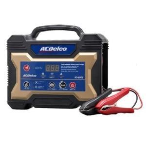 (今ならあります) バッテリー充電器 ACデルコ AD-2002 12V 全自動バッテリーチャージャー ACDelco (AD-0002後継モデル)|カーマニアNo.1
