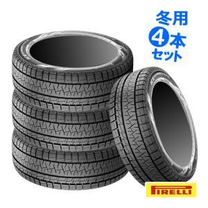 (2015年製)(4本特価) 245/40R18 ピレリ アイスアシンメトリコ 18インチ スタッドレスタイヤ 4本セット 送料無料 正規品 car-mania