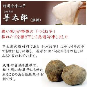 冷凍おろし山芋 芋太郎 無糖 1kg 国産 無農薬|car-media|03