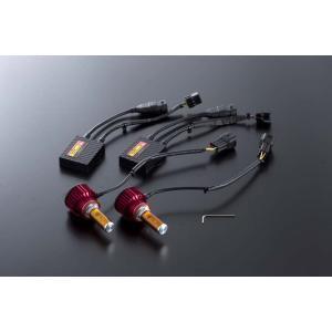 VALENTI ヴァレンティ LDJ13-H8-28 ジュエルLEDフォグバルブ デラックス3800シリーズ 2800K H8/H11/H16 イエロー