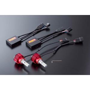 VALENTI ヴァレンティ LDJ14-H8-60 ジュエルLEDヘッド&フォグバルブ デラックス3800シリーズ 6000K H8/H9/H11/H16 ホワイト