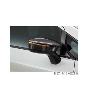 NISMO ニスモ 9637S-RNE20 ノート E12('14/10〜)用 カーボンドアミラーカバー|car-parts-shop-mm