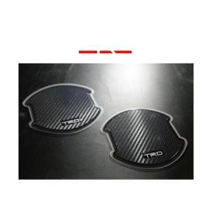 TRD MS010-00018 ドアハンドルプロテクター 2枚セット アクア、カローラ、C-HR、タンク、86、プリウス、マークX、ルーミー|car-parts-shop-mm