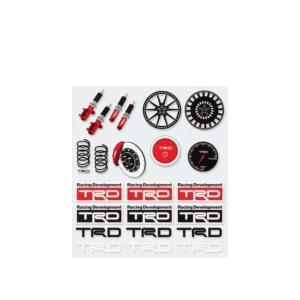 TRD 08231-SP180 ミニステッカーセット MINI STICKER SET
