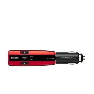 KENWOOD ケンウッド CAX-BT20-R Bluetooth搭載FMトランスミッター ブルー...