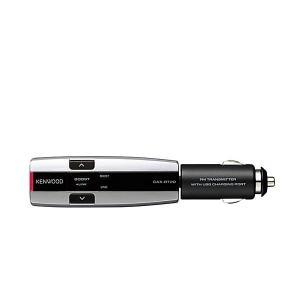KENWOOD ケンウッド CAX-BT20-S Bluetooth搭載FMトランスミッター ブルー...