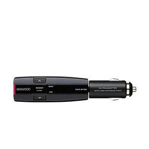 KENWOOD ケンウッド CAX-BT20-B Bluetooth搭載FMトランスミッター ブルー...
