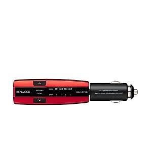 KENWOOD ケンウッド CAX-BT10-R Bluetooth搭載FMトランスミッター ブルー...