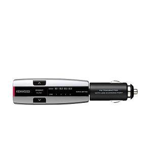 KENWOOD ケンウッド CAX-BT10-S Bluetooth搭載FMトランスミッター ブルー...