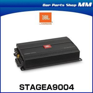 JBL STAGE A9004 4チャンネル パワーアンプ 最大出力880W 省スペースカーアンプ