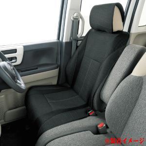 数量限定 ボンフォーム サイドエアバッグ対応 ニット&メッシュ素材 消臭 シートカバー メンズデオ フロント:バケットシート&軽ベンチシート兼用 1枚 黒|car-pro|02