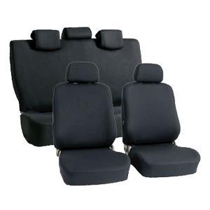 ◆伸縮するニット素材を使用している為、従来のシートカバーと比べてフィット性が高く、きれいに装着出来る...