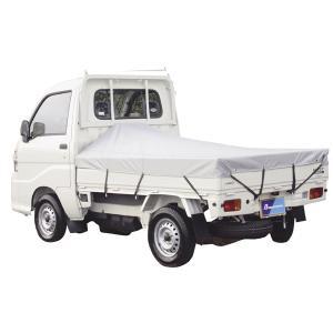 【 ボンフォーム 】 軽トラック用 防水加工 荷台トラックシート シルバー サイズ:約 177×210cm|car-pro