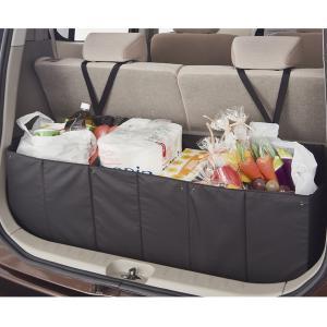 ◆簡単サイズ調整可能な収納BOX 使用用途にあわせて4パターンのサイズ調整可能ですので車内小物の収納...